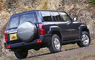 picture of nissan patrol from the rear