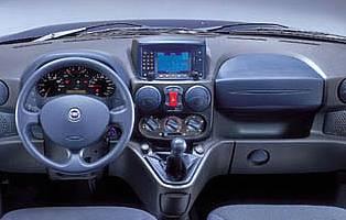 picture of fiat doblo dashboard