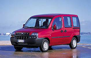 picture of fiat doblo from the front