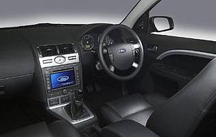 picture of ford mondeo interior