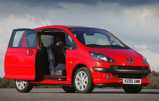 Car Reviews Peugeot 1007 1 4 Dolce The Aa