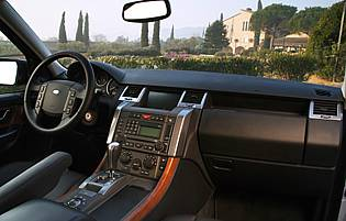 picture of range rover interior