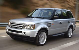 picture of range rover from the front