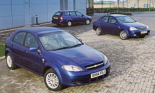 Car Reviews: Chevrolet Lacetti 1.6 SX, Station Wagon - The AA