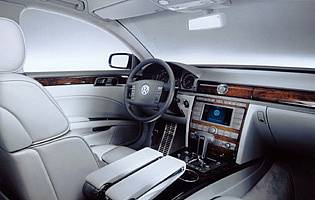 picture of phaeton interior