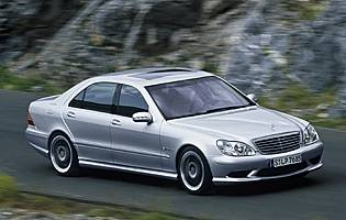 picture of Mercedes s-class from the front