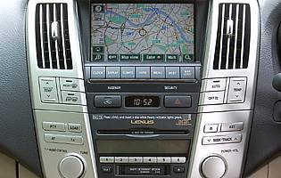 picture of car sat-nav