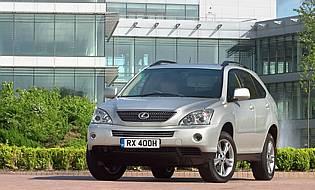 car reviews: lexus rx 400h se-l - the aa