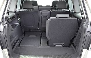 picture of zafira rear seats