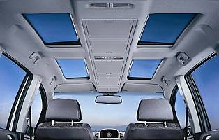 picture of panoramic sunroof