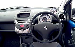 Car Reviews Peugeot 107 Urban 5 Door The Aa