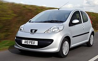 Car Reviews: Peugeot 107 Urban 5-door - The AA