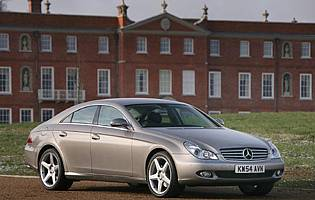 Car Reviews Mercedes Benz Cls Class Cls 350 The Aa