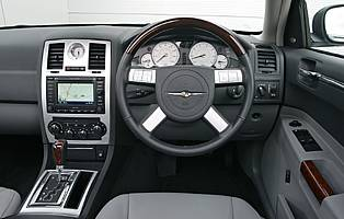 picture of 300c interior