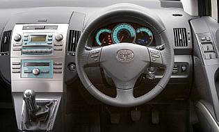 picture of corolla verso interior
