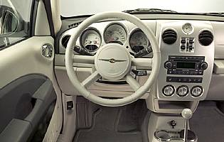 picture of pt cruiser interior