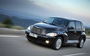 picture of pt cruiser from the front