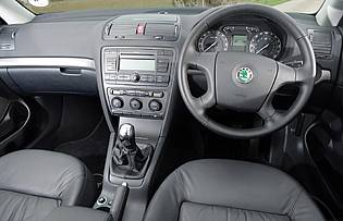 Picture of the car interior