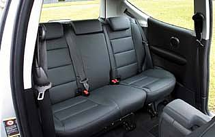 picture of rear seats