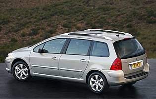 car reviews: peugeot 307 sw hdi 136 se - the aa