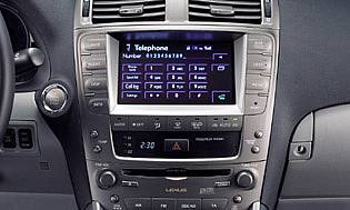 picture of lexus dashboard