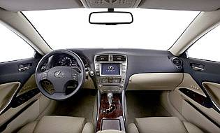 picture of lexus interior