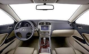 picture of lexus interior