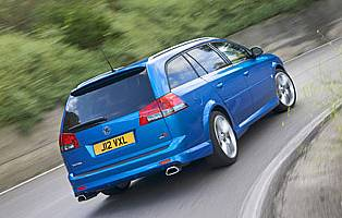 picture of vectra from the rear