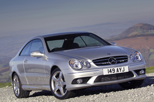 Car Reviews: Mercedes-Benz CLK-Class Coupe CLK 220 CDI Avantgarde ...
