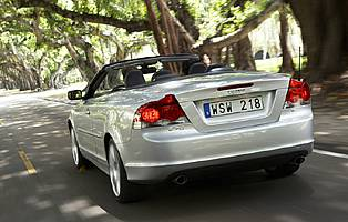 picture of c70 from the rear