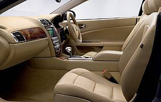 picture of jaguar xk interior