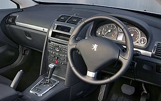 Car reviews peugeot 407 coupe gt hdi the aa for Interior 407 coupe