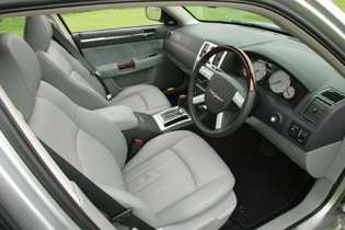picture of 300c from the interior