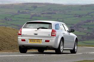 picture of 300c from the rear