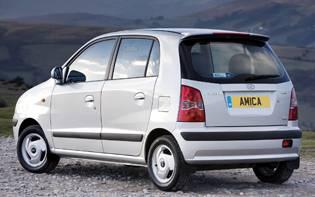 Amica Car Insurance >> Car Reviews: Hyundai Amica 1.1 CDX - The AA