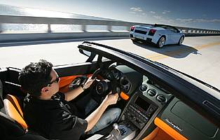 Car Reviews Lamborghini Gallardo Spyder The Aa