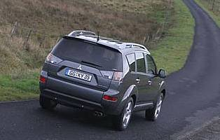 picture of car from the rear
