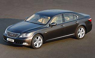 Car Reviews Lexus Ls 460 Se L The Aa