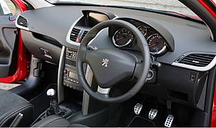 Car reviews peugeot 207 gti thp 175 the aa for Peugeot 207 interior