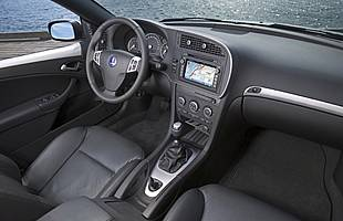 picture of car from the interior
