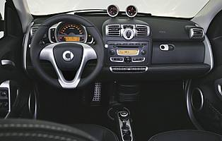 car reviews smart fortwo brabus coupe the aa. Black Bedroom Furniture Sets. Home Design Ideas