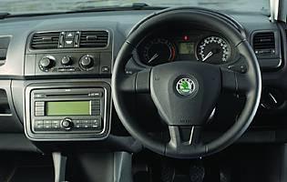 car reviews skoda fabia greenline estate the aa