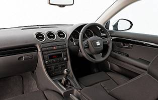 Car reviews seat exeo 2 0 tdi se lux saloon the aa - Interior seat exeo ...
