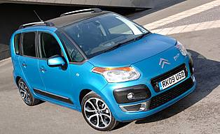 car reviews citroen c3 picasso 1 6 vti exclusive aa. Black Bedroom Furniture Sets. Home Design Ideas