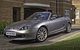 Car Reviews Mg Tf Le500 The Aa