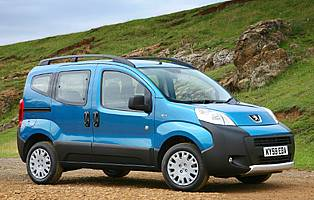 Car Reviews Peugeot Bipper Tepee Outdoor Hdi 70 The Aa