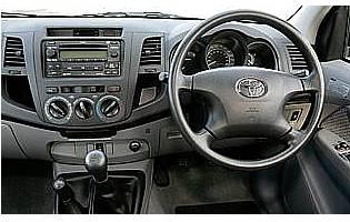 Car Reviews: Toyota Hilux HL3 Double Cab 2 5 D-4D Manual 4WD