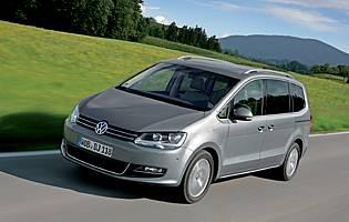 Car Reviews Volkswagen Sharan 2 0 Tdi Cr Sel 7 Seater