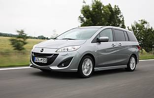 picture of mazda5 from the front