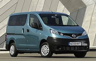 Nissan nv200 combi test